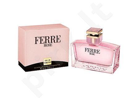 Gianfranco Ferre Ferré Rose, tualetinis vanduo moterims, 50ml