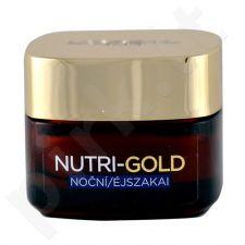 L´Oreal Paris Nutri Gold naktinis kremas, kosmetika moterims, 50ml