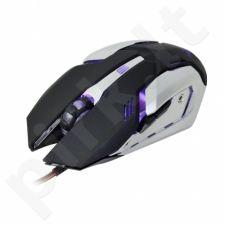 Optinė žaidimų pelė X-ZERO 6D, 3200dpi, Daugiafunkciniai mygtukai X-M372KS