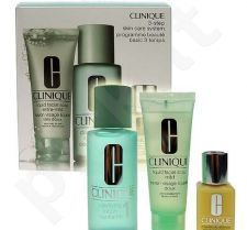 Clinique (50ml Liquid Facial Soap Extra Mild + 100ml Clarifying Lotion 1 + 30ml DDML) 3step Skin Care System1, 50ml, moterims