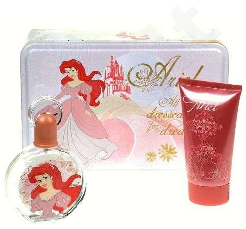 Disney (EDT 50 ml + 75 ml dušo želė) Ariel, rinkinys moterims
