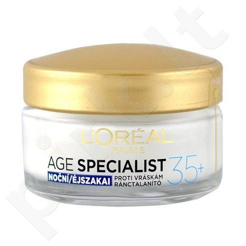 L´Oreal Paris Age Specialist 35+ naktinis kremas, kosmetika moterims, 50ml