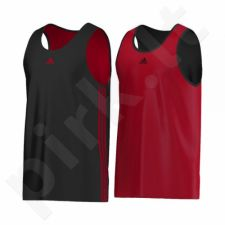 Marškinėliai krepšiniui adidas Team Reversible G90284