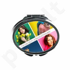 Ovalo formos veidrodėlis su Jūsų pasirinkta nuotrauka