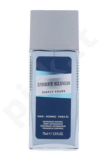 Enrique Iglesias Deeply Yours, dezodorantas vyrams, 75ml