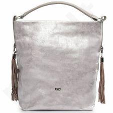 Rankinė shopper bag FELICE Bolsa pink gold
