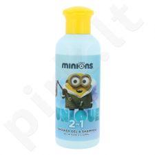Minions Minions rinkinys vaikams, (dušo želė 200 ml + pinigų dėžutė)