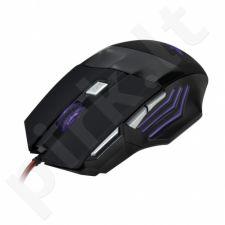 Optinė žaidimų pelė X-ZERO 7D, 3000dpi, Daugiafunkciniai mygtukai X-M376KK