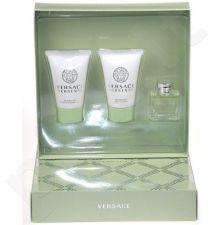 Versace (EDT 5 ml + 25 ml dušo želė + 25 ml kūno losjonas) Versense, rinkinys moterims
