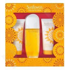 Elizabeth Arden Sunflowers, rinkinys tualetinis vanduo moterims, (EDT 100 ml + 100 ml kūno losjonas + 100 ml kūno drėkiklis)