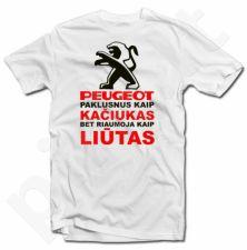 """Marškinėliai """"Riaumojantis Peugeot"""""""