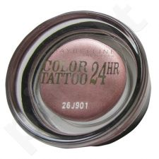 Maybelline Color Tattoo 24H akių šešėliai, kosmetika moterims, 4g, (50 Eternal Silver)
