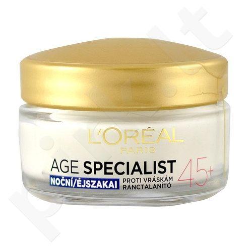L´Oreal Paris Age Specialist 45+ naktinis kremas, kosmetika moterims, 50ml