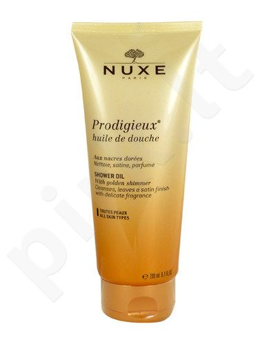 Nuxe Prodigieux Shower Oil, kosmetika moterims, 200ml