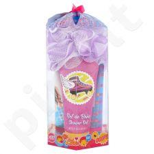 Disney Soy Luna rinkinys vaikams, (dušo želė 100 ml + kūno losjonas 100 ml + šampūnas 100 ml + kempinė)