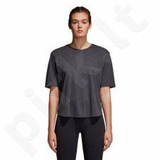 Marškinėliai treniruotėms adidas FreeLift Climalite Aeroknit W CD3107