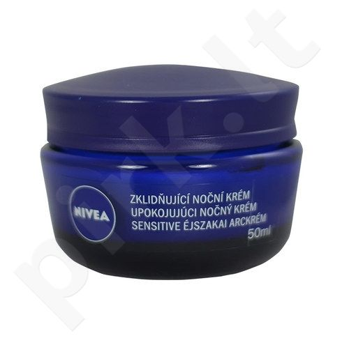 Nivea Sensitive Night Care, kosmetika moterims, 50ml