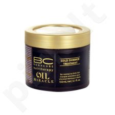 Schwarzkopf BC Oil Miracle Gold Shimmer Treatment Thick Hair, kosmetika moterims, 150ml