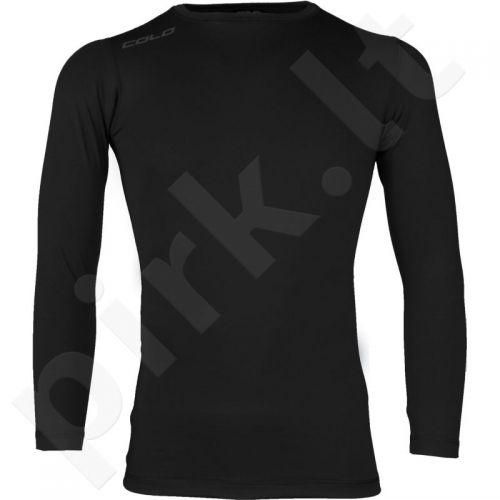 Marškinėliai COLO Under 3 juoda