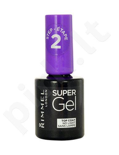 Rimmel London Super gelis Top Coat, kosmetika moterims, 12ml