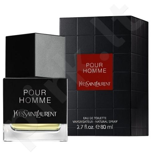 Yves Saint Laurent La Collection Pour Homme, tualetinis vanduo (EDT) vyrams, 80 ml
