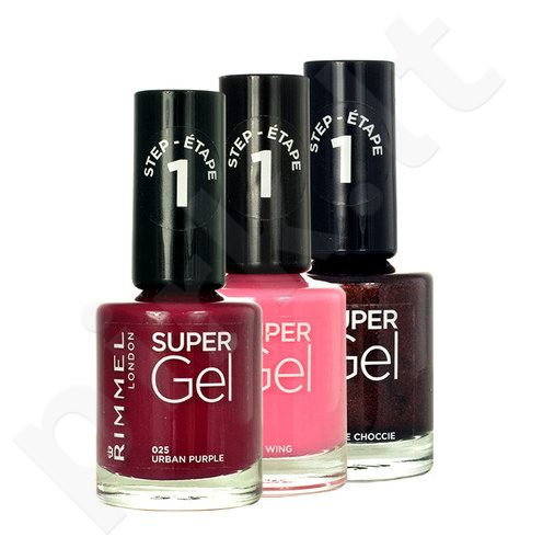 Rimmel London Super gelis, kosmetika moterims, 12ml, (013 Bare Hug)