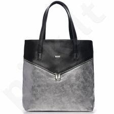 Rankinė shopper bag FELICE Verona Due juoda