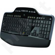 Bevielė klaviatūra Logitech + Pelė Desktop MK710, US