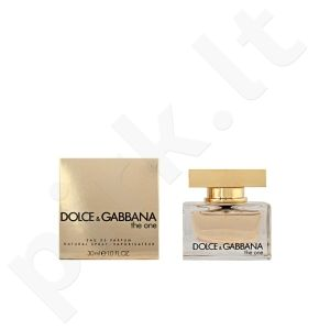 DOLCE AND GABBANA THE ONE edp vapo 30 ml Pour Femme