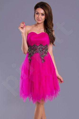 PINK BOOM suknelė - fuksija 9010-2