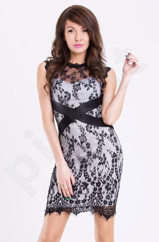 Emamoda suknelė - balta 11001-4