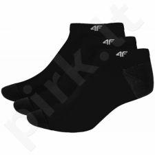 Kojinės 4F C4L16-SOM003 juodas
