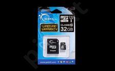 G.Skill atminties kortelė Micro SDHC 32GB Class 10 UHS-1 + adapter