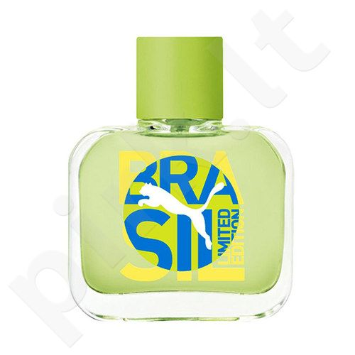Puma Green Brazil Edition, EDT vyrams, 40ml, (testeris)