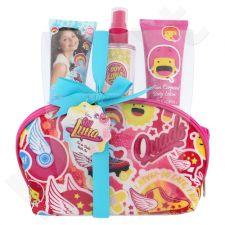 Disney Soy Luna rinkinys vaikams, (kūno kvapas 100 ml + kūno losjonas 60 ml + dušo želė 60 ml +kosmetikos krepšys)