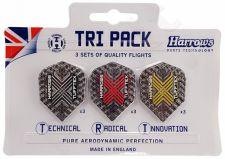 Strėlyčių sparneliai TRI PACKS TUFFTEX 3623
