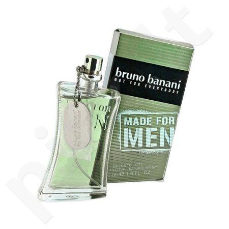 Bruno Banani Made for Men, tualetinis vanduo vyrams, 75ml