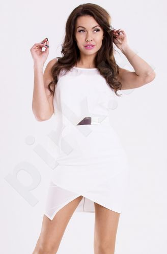 Emamoda suknelė - balta 11002-1
