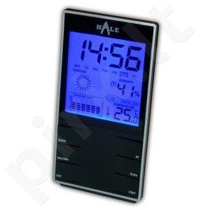 Metereologinė stotelė (higrometras-termometras su laikrodžiu ir kalendoriumi) HALE EM2319 (OLANDIJA)