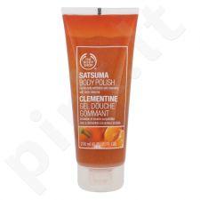 The Body Shop Likerinių mandarinų šveičiamoji dušo želė, kosmetika moterims, 200ml