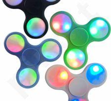 """Fidget Spinner"" šviečiantis suktukas (LED)"