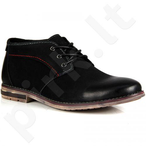Wishot 31-274-m-bk odiniai  auliniai batai