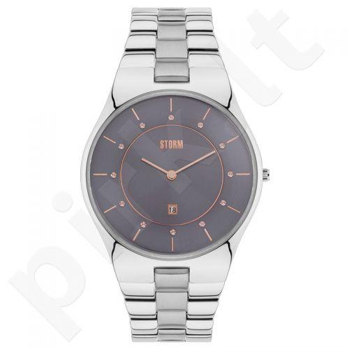 Moteriškas laikrodis STORM CRYSTY GREY