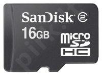 Atminties kortelė SanDisk microSDHC 16GB
