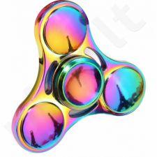 """""""Fidget Spinner"""" metalinis vaivorykštės spalvų suktukas, Modernas"""