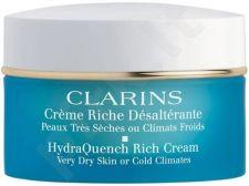 Clarins HydraQuench Rich kremas, 50ml, kosmetika moterims