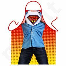 "Prijuostė ""Super DAD"""