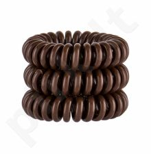 Invisibobble Power Hair Ring, plaukų Ring moterims, 3pc, (Pretzel Brown)