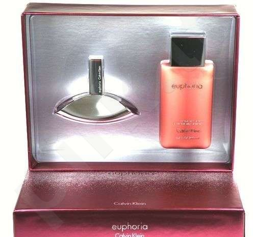 Calvin Klein (EDP 50 ml + 200 ml kūno losjonas) Euphoria, rinkinys moterims