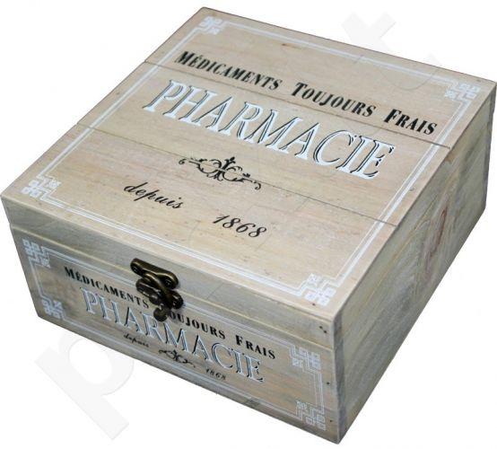 Dėžutė Pirmosios pagalbos vaistinėlė